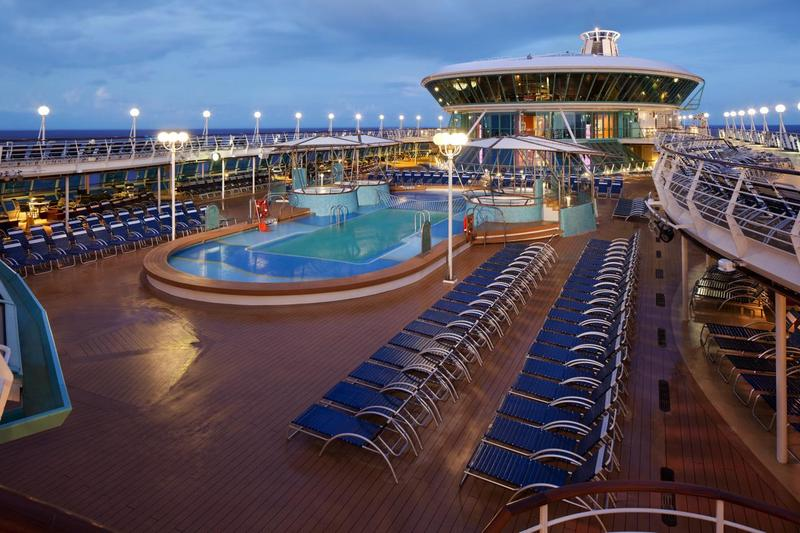 Rhapsody of the Seas Pool Deck