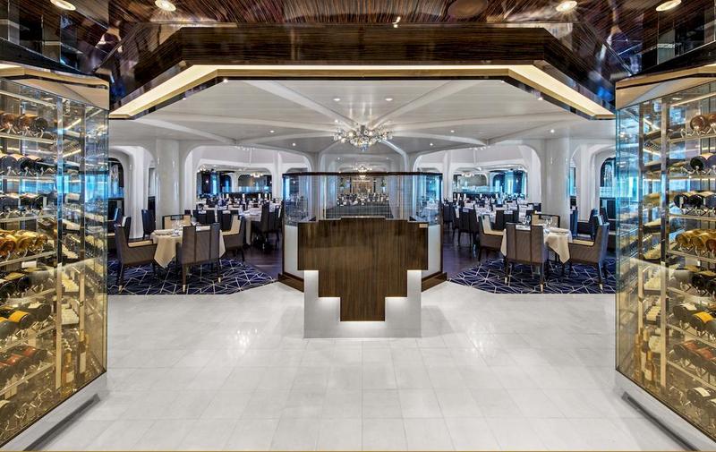 Seabourn Ovation Restaurant