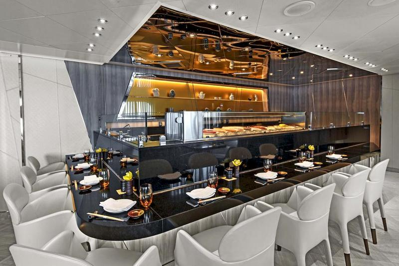 Seabourn Ovation Restaurant Sushi