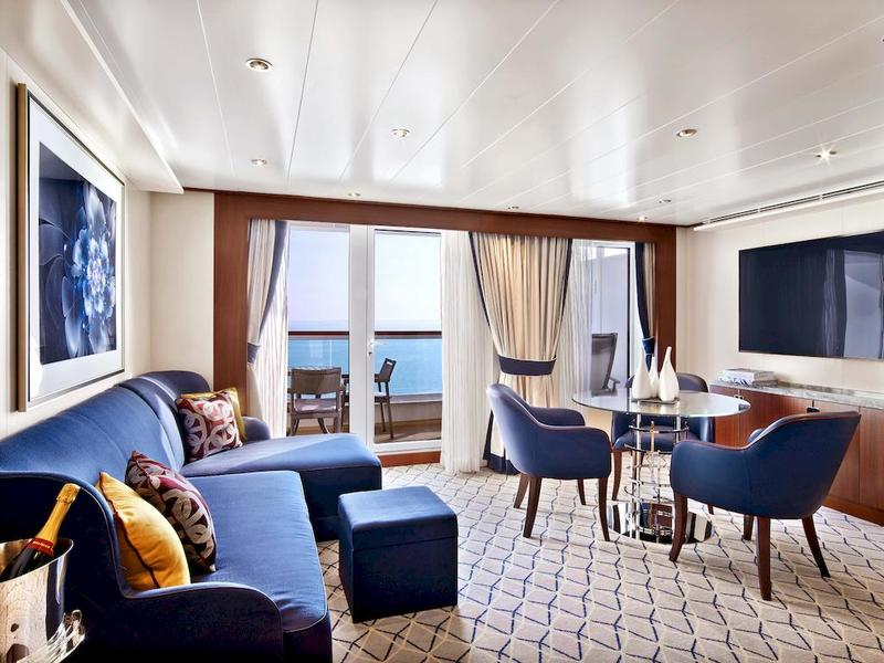 Seabourn Ovation Penthouse Suite