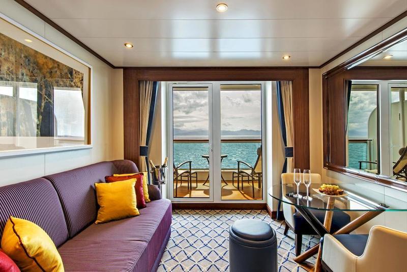 Seabourn Ovation Veranda Suite