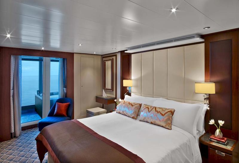 Seabourn Ovation Wintergarden Suite