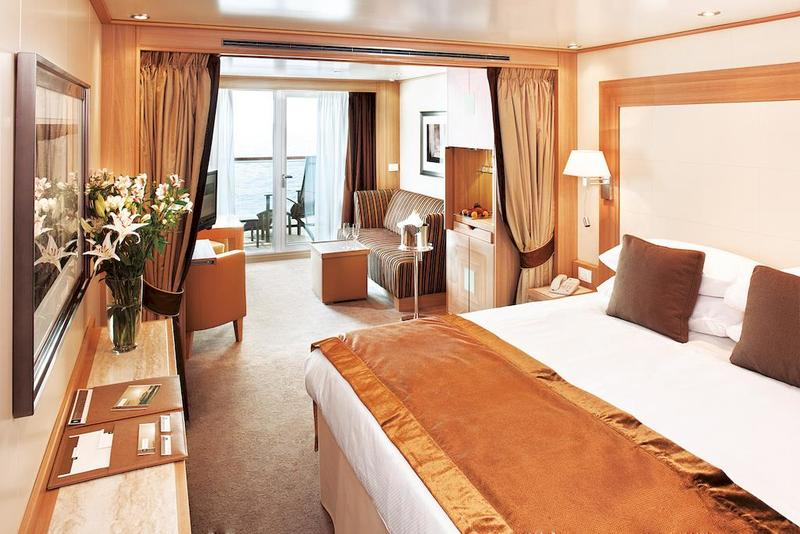 Seabourn Quest Balcony Suite