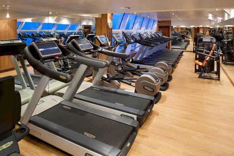 Seabourn Sojourn Gym