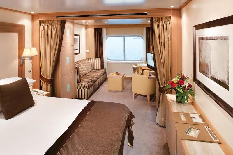 Seabourn Sojourn Oceanview Suite