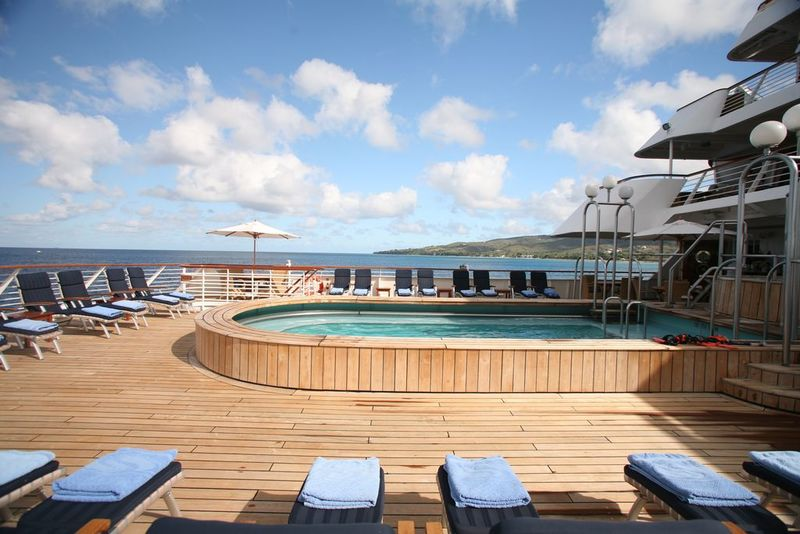 SeaDream II Pool Deck