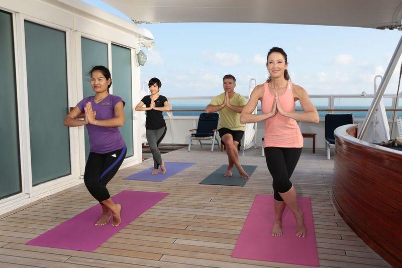 SeaDream II Fitness Yoga