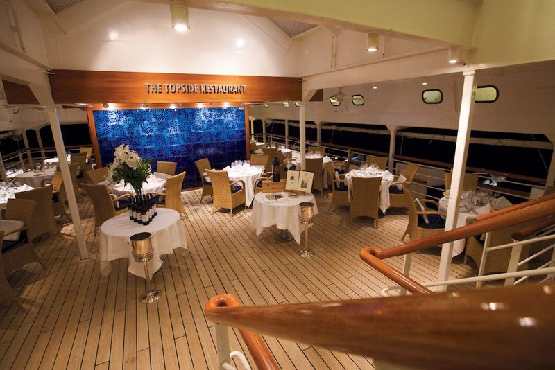 SeaDream II Topside Restaurant