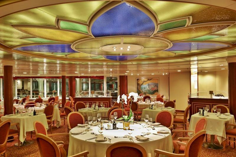 Silver Whisper La Terrazza Restaurant