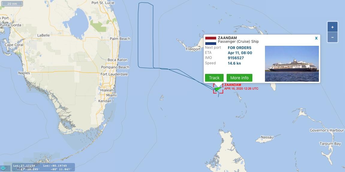 Coronavirus cruise ships tracker - overview of stranded ships